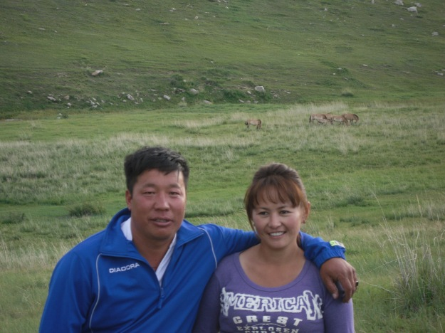 Gerlelee and his wife