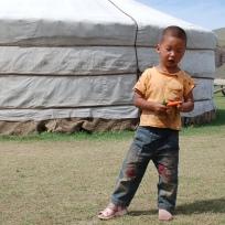 centro Mongolia piccolo nomade