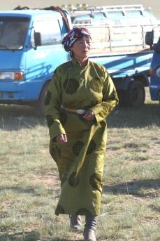 centro Mongolia donna nomade