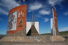 212 1344 HF Kharakorin monumento fondazione impero mongolo