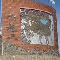 212 1346 HF Kharakorin monumento fondazione impero mongolo