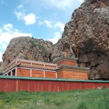 212 1396 HF Tuvkhun Il tempio