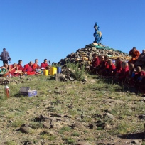 Shank cerimonia fondazione Ovoo